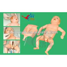 Simulador de Infância de Enfermagem Avançada ISO, modelo de ensino de simulação médica