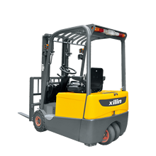 Xilin Wholesale 3 Wheel 1600kg 3527lbs Electric Power Pallet Truck Electric Forklift With Safe Battery