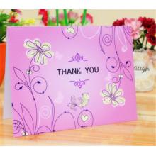 Vier Farben Custom Paper Card Geschenk Grußkarten drucken
