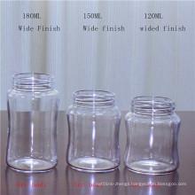 120ml Clear Borosilicate Glass Bottle