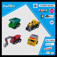 New design cartoon mini pull back toy truck