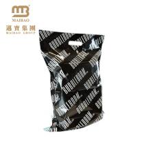 Sac Poly / Polyester résistant résistant à la déchirure unique polyéthylène de conception de poly avec la poignée découpée