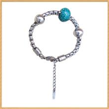 La mayoría de los brazaletes calientes del encanto de la joyería del cuerpo del acero inoxidable de la venta