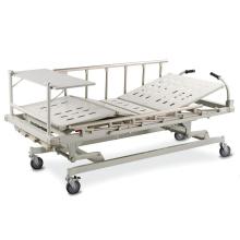 Lit d'hôpital électrique multifonction universel pour soins médicaux