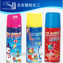 White Color Snow Spray 250ml different color
