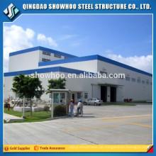 Vorgefertigte Struktur Stahl Fabrikgebäude Design Industrie Schuppen zum Verkauf