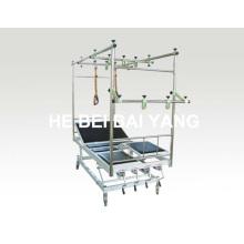 A-142 Cama de tração de ortopedia inclinada móvel