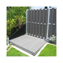 Cheap Chinese Supplier WPC Fence Wood Plastic Garden Fence Factory