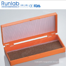 Microscope Slide Box with 50 Places