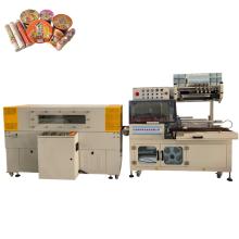 Automatic heat shrink film packaging machine