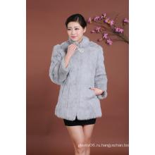Женщины среднего пальто длинного стиля шикарная одежда длинная куртка куртки леди женщин