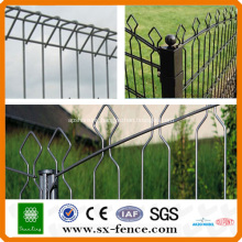 ISO9001powder coated welded wire fence