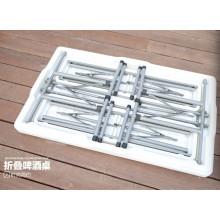 Plastic 113cm Pong Folding Table Set
