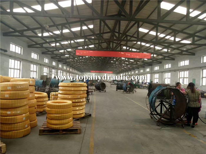 reinforced custom printed drilling hydraulic hose