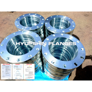 Thread bebibir sejuk Galvanized Flange Threaded