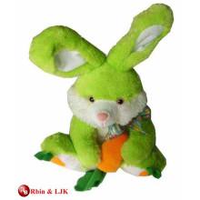 Venta al por mayor de conejo de peluche de encargo de la alta calidad