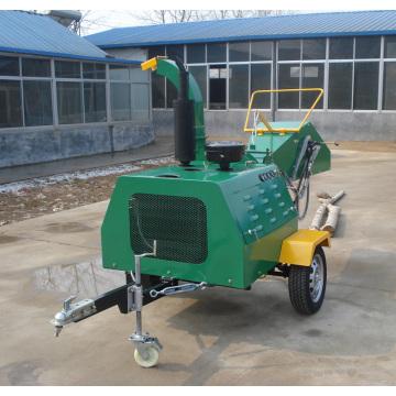 30HP дизельный двигатель self питания деревянный chipper