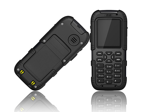 Black Anti Vibration WIFI Handset