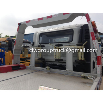 รถบรรทุกถนน JIEFANG FAW Flat Two-in-one Road Wrecker Truck