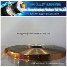 Matériaux d'isolation Ruban adhésif en cuivre Mylar pour bouclier de câble