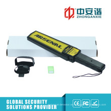 Detectores de metales de mano de alta compactación con interruptor de ajuste de sensibilidad
