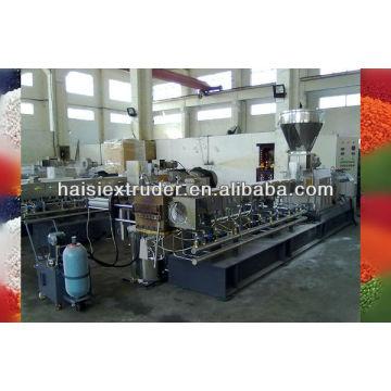 Maquinaria de extrusión de Twin-screw de co-rotación SHJ-65 para granular