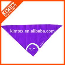 Мода хлопка дешево настроить треугольник печатных neckwear
