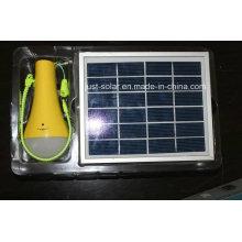 Luz solar para el hogar con función de linterna en mercados calientes