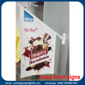 PVC Shop Front Flag Banner Sign för Promotion