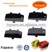 Kapaco Premium Quality Car Brake pad Steel Rubber shim 7762-D885 OEM 04466-33090 for Toyota