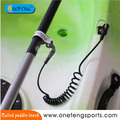 Coiled snap gancho Paddle Leash