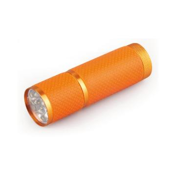 9 LED Glow In The Dark Flashlight Keychains