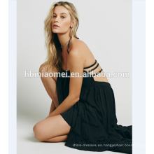 vestido maxi de la playa maxi del ganchillo del océano de la playa de moda 100% de la calidad con estilo elegante