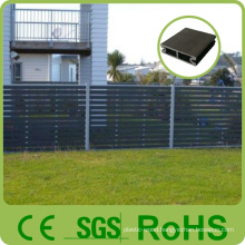 Factory Wholesale Customized Aluminium Wood Color Fence, Wooden Fence Panel