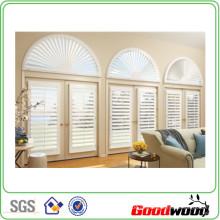 89mm Basswood Massivholz Plantagen Fensterläden Fenster (Sgd-S-6116)