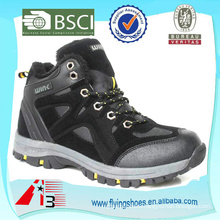 sport man trendy hiking shoes ankle boot