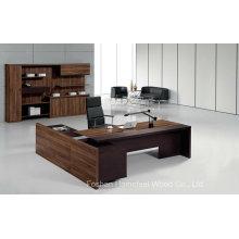 Table de directeur exécutif moderne en bois de bureau de bureau (HF-TWB105)