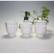 Ceramic cheap bathroom accessories sets