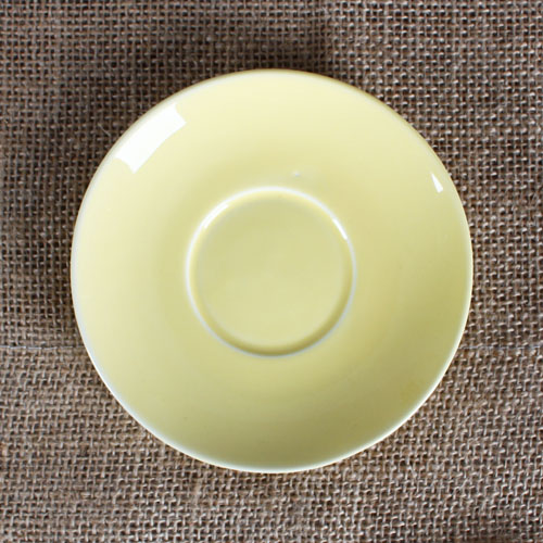 yellow color saucer