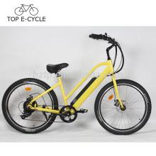 Soem-E-Bike Kreuzer-Stadt-Art 500W Bafang Bewegungselektrisches Fahrrad 48V 10.2Ah Grün-Leistung Ebike China
