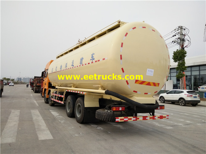 Pneumatic Dry Tanker Trucks