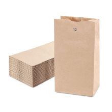 Factory hot sale customize fashion kraft paper bag
