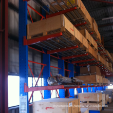 Medium duty adjustable cantilever racking