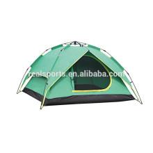 3-4 pessoas barraca de acampamento ao ar livre à prova d 'água viagem barraca da família camping dobrável