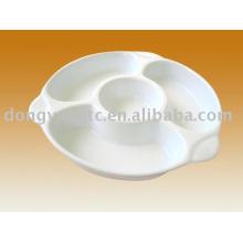 Placa de postre de cerámica al por mayor directo de fábrica