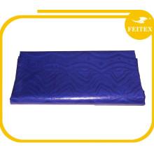 Tissu africain de george de prix de gros usine de couleur bleue de l'Inde pour la noce