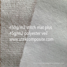 Fibra de vidro costurado costura de poliéster de suporte de fibra de vidro para pultrusão