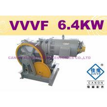 HOT!!! 630KG 6.4KW VVVF Elevator Machine (MRL)
