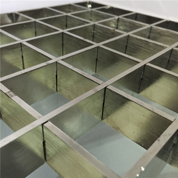 Stainless Plug Steel Bar Grid