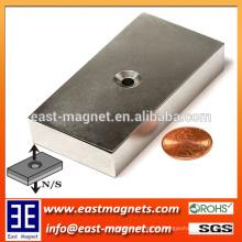 NdFeB, neodimio, recubrimiento con Ni, NdFeB sinterizado Magnet